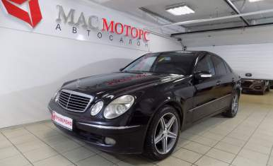 Mercedes-Benz E-klasse Черный