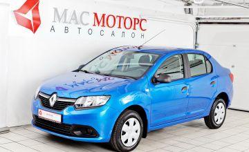 Renault Logan Голубой